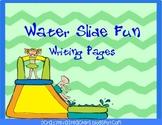 Water Slide Writing Packet