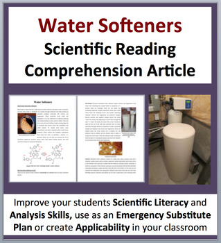Water Softeners and Hard Water - Science Reading Article