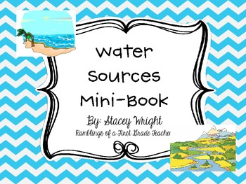 Water Sources Mini-Book