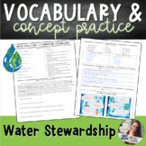 Water Stewardship Practice Worksheet