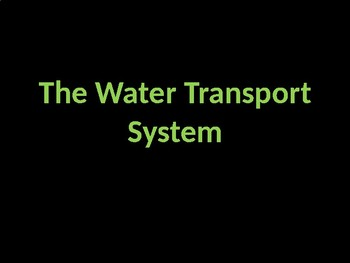 Water Transport System Slideshow