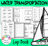 Water Transport Themed Lap Book