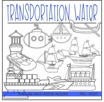 Water Transportation Clipart by KM Classroom   Teachers ...