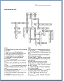 Water Unit Crossword Puzzle