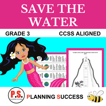 Water Unit: Save The Water Ultimate Unit with Language Arts and Math