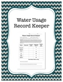 Water Usage Record Keeper