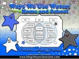 Water Use: Ways We Use Water - Home and School Venn Diagram Compare and Contrast