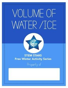 Water Versus Ice STEM FREE Activity