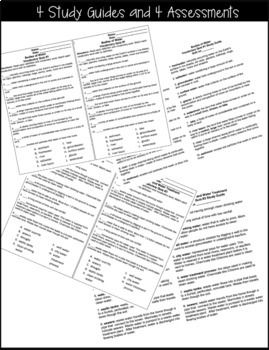 Water Vocabulary Study Guides and Quizzes