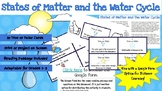 States of Matter and Water Cycle * True or False Task Card