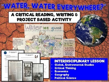 Water, Water Everywhere? A Reading, Writing and Project Based Lesson