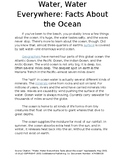 Water, Water, Everywhere: Facts About the Ocean Story