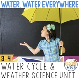 Water Cycle Activities, Word Wall Words, Worksheets and more