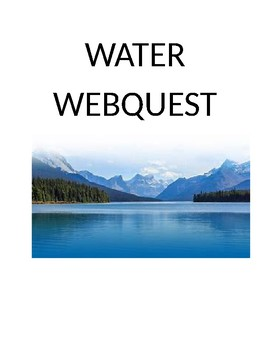 Water Webquest