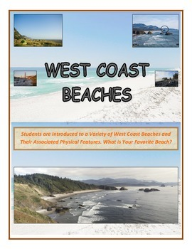 Water: West Coast Beaches Along the Pacific Ocean (Come Explore the U.S.)