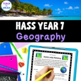 Year 7 Geography Research Project, Australian Curriculum, Middle School