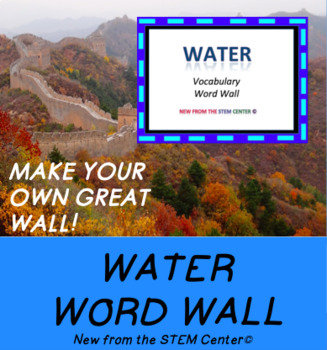 Water Word Wall