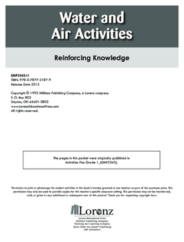 Water and Air Activities