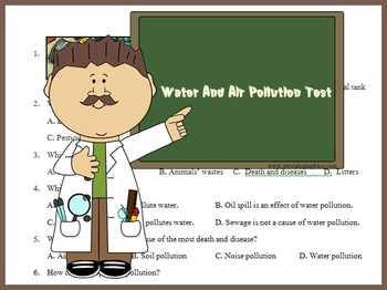 Water and Air Pollution Test