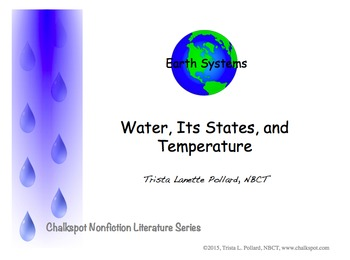 States of Matter: Water PDF (NGSS Aligned)