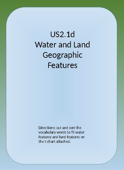 Water and Land Features