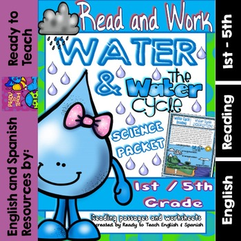 Water and Water Cycle - Science Packet