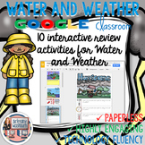 Weather and Water Cycle Digital Interactive Notebook
