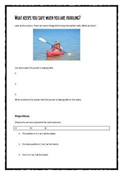 ESL water safety kit