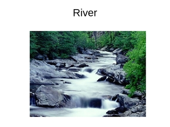 Water as a Natural Resource PowerPoint Slideshow