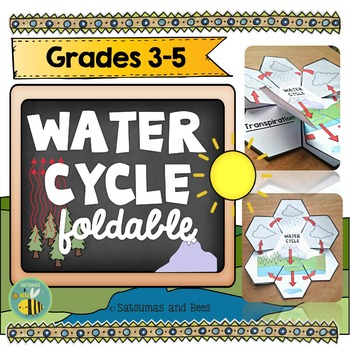 The Water Cycle Interactive Science Notebook {foldables}