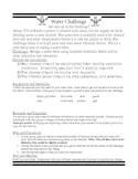Water filtration challenge