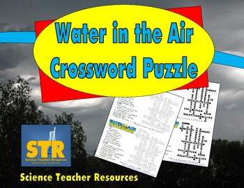Water in the Air Crossword Puzzle