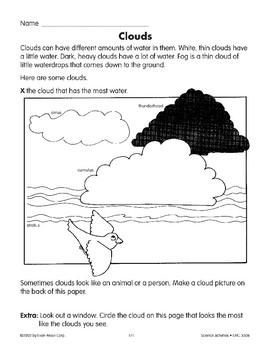 Water in the Air/El agua en el aire and Clouds/Las nubes