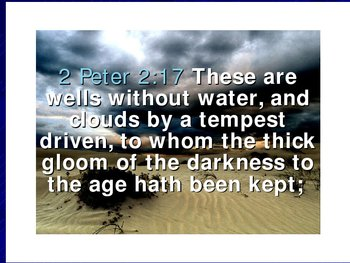 Water in the Bible