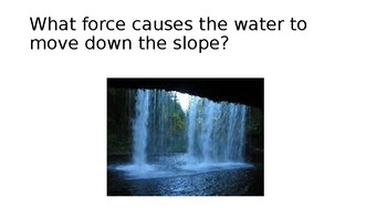 Water on a slope PP