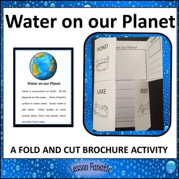Water on our Planet Brochure Activity