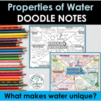 Properties Of Water Worksheets Teaching Resources TpT