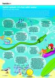 Water science printable, Aboriginal Dreamtime printable, Ocean food chain