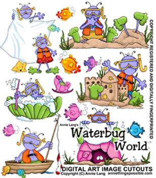 Waterbug World Clipart