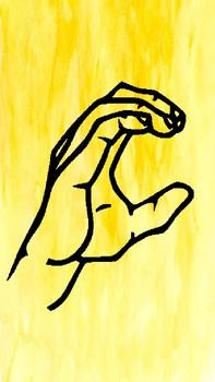 Watercolor ASL Welcome Banner