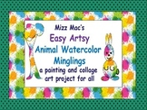 Easy  Animal Watercolor Painting Technique