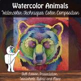 Watercolor Technique Animals - Watercolor Project