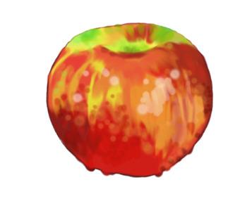 Watercolor Apple Clip Art Freebie