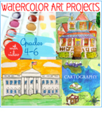 Watercolor Art Projects with Video