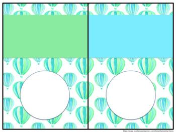 Watercolor Balloon Decor Set