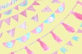 Watercolor Banners Clip Art