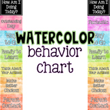 EDITABLE Watercolor Behavior Charts