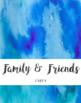 Watercolor Binder Covers - Editable