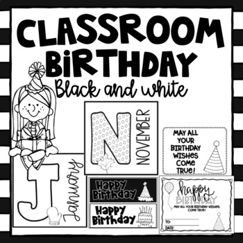 Watercolor  Birthday Set ~ Editable