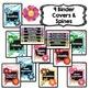 EDITABLE Binder Covers {Watercolor Blooms}
